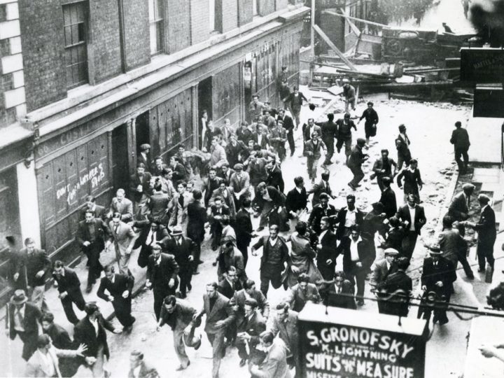 La batalla de Cable St. Violencia 'cockney' contra el fascismo británico